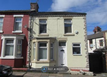 Thumbnail 3 bed end terrace house to rent in Whalley Road, Birkenhead