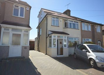 Thumbnail 4 bed semi-detached house to rent in Lawrence Crescent, Edgware