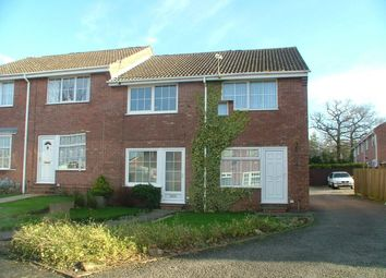Thumbnail 2 bed town house to rent in Burdock Close, Oakwood, Derby
