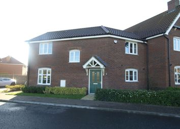 Thumbnail 3 bed semi-detached house for sale in Austin Way, Norwich
