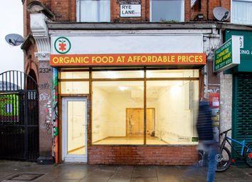 Thumbnail Retail premises to let in 232 Rye Lane, London