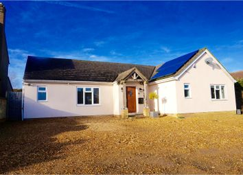 Thumbnail 4 bedroom detached bungalow for sale in Washingley Road, Folksworth