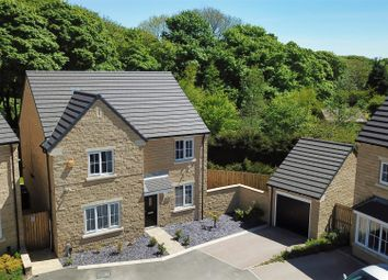 Thumbnail 4 bed detached house for sale in Harrowins Farm Drive, Queensbury, Bradford