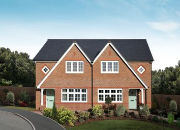 """Thumbnail 3 bedroom semi-detached house for sale in """"Letchworth"""" at Mercian Way, Eagle Drive, Tamworth"""