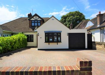 Thumbnail 4 bed semi-detached bungalow for sale in The Grove, Upminster