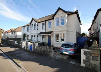 Thumbnail 4 bed semi-detached house for sale in Quantock Road, Weston-Super-Mare