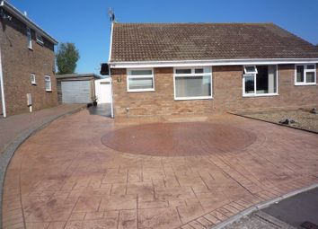 Thumbnail 1 bed semi-detached bungalow for sale in Smeaton Close, Rhoose, Barry