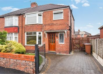 Thumbnail 3 bed semi-detached house for sale in Saville Road, Gatley