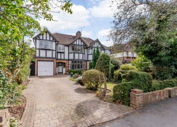 Thumbnail 5 bed semi-detached house for sale in Manor Road North, Hinchley Wood