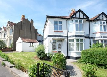 Thumbnail 3 bed semi-detached house for sale in Halsbury Road, Westbury Park, Bristol