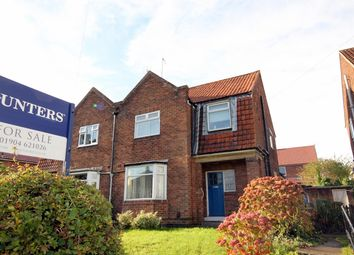 Thumbnail 3 bed semi-detached house for sale in Water Lane, Clifton, York