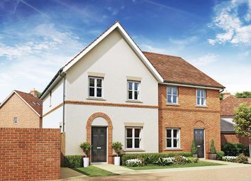 Thumbnail 3 bed semi-detached house for sale in The Swallow, Oakham Park, Old Wokingham Road, Crowthorne, Berkshire