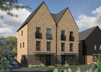 """Thumbnail 4 bed town house for sale in """"The Winchcombe II"""" at Woodpecker Close, Northstowe, Cambridge"""