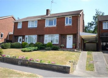 Thumbnail 3 bed semi-detached house for sale in Rowhill Avenue, Aldershot, Hampshire