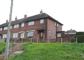 Thumbnail 3 bed terraced house for sale in Romney Avenue, Chesterton, Newcastle-Under-Lyme