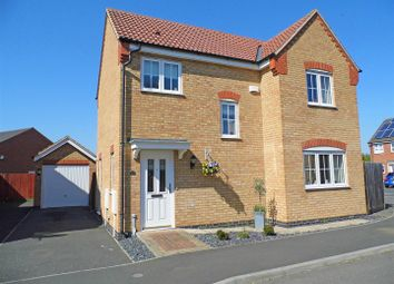 Thumbnail 3 bed detached house for sale in Cortez Close, Spalding