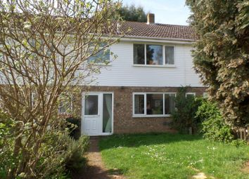 Thumbnail 3 bed terraced house to rent in Tithe Avenue, Beck Row, Bury St. Edmunds