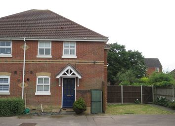 Thumbnail 1 bed semi-detached house for sale in Derwent Road, Highwoods, Colchester