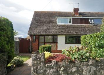 Thumbnail 2 bed semi-detached house for sale in Albert Drive, Conwy