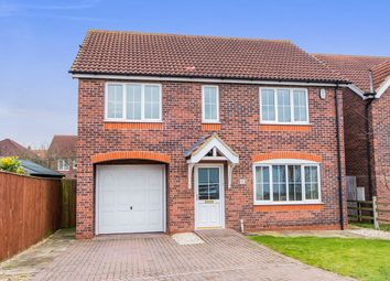Thumbnail 4 bed detached house for sale in Whitefriars Close, Lincoln