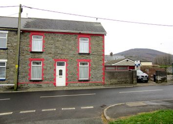Thumbnail 3 bed end terrace house for sale in High Street, Pontypool, Monmouthshire.