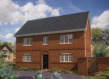 "Thumbnail 3 bed detached house for sale in ""The Lambourn"" at King Alfred Way, Oxfordshire, Wantage"
