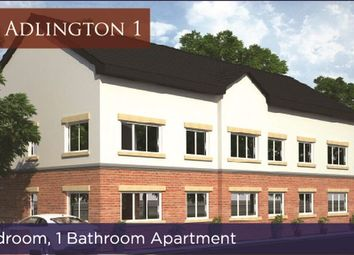 Thumbnail 1 bedroom flat for sale in The Adlington, Lostock Lane, Lostock, Bolton, Lancashire.