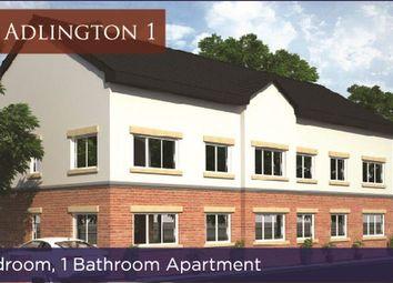 Thumbnail 1 bedroom flat for sale in The Adlington, Lostock Lane, Lostock, Bolton, Lancashire.