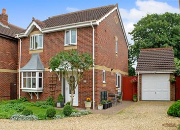 Thumbnail 3 bed detached house for sale in Barnes Close, Sleaford