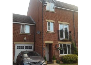 Thumbnail 4 bed town house for sale in Cowslip Close, Cannock