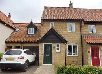 Thumbnail 3 bed link-detached house for sale in Garnett Drive, Easton, Norwich