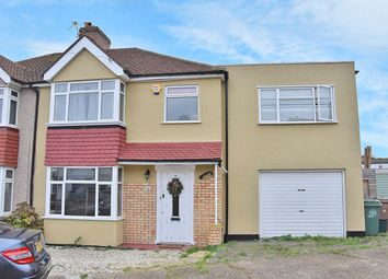 Thumbnail 5 bed semi-detached house for sale in Inverness Road, Worcester Park, Surrey