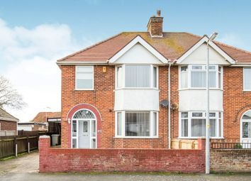 Thumbnail 3 bed semi-detached house for sale in Queens Drive, Skegness