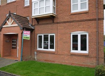 Thumbnail 2 bed flat to rent in Lowdale Close, West Hull