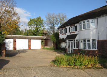 Thumbnail 4 bed semi-detached house for sale in The Twitten, Glen Parva, Leicester