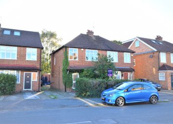 Thumbnail 3 bed semi-detached house for sale in Cottimore Lane, Walton-On-Thames