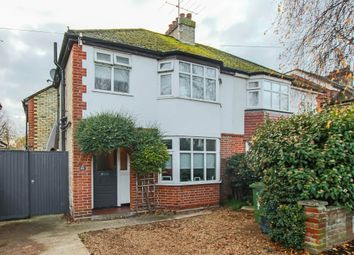 Thumbnail Semi-detached house for sale in Perne Avenue, Cambridge