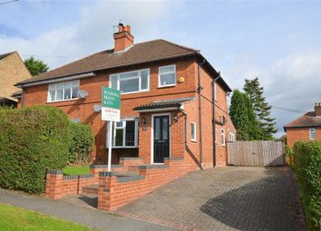 Thumbnail 3 bed semi-detached house for sale in The Leys, Little Eaton, Derby