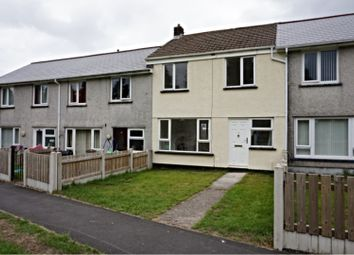 Thumbnail 3 bed terraced house to rent in Waenheulog, Ebbw Vale