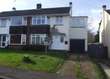Thumbnail 4 bed semi-detached house for sale in Northfield Road, Southampton