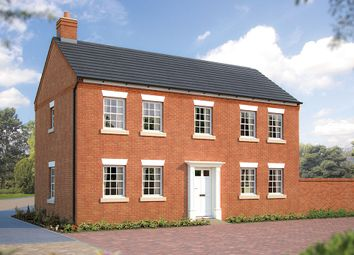 "Thumbnail 4 bed detached house for sale in ""The Montpellier"" at Beancroft Road, Marston Moretaine, Bedford"