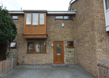 Thumbnail 3 bed terraced house to rent in Warwick Close, Canvey Island