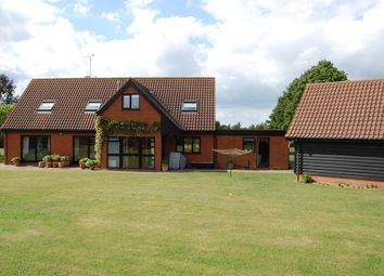 Thumbnail 4 bed detached bungalow for sale in Lodge Road, Hollesley, Woodbridge