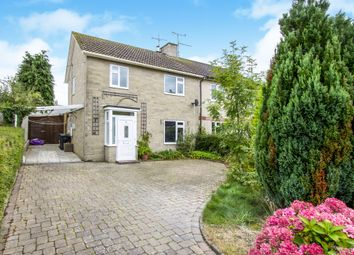 Thumbnail 3 bedroom semi-detached house for sale in Coronation Drive, Donhead St. Mary, Shaftesbury