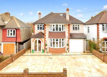 Thumbnail 5 bed detached house for sale in Castlemaine Avenue, Ewell, Epsom