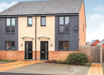 Thumbnail 2 bed semi-detached house for sale in Chamberlain Way, Gunthorpe, Peterborough