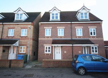 Thumbnail 3 bed town house for sale in Darwin Drive, Driffield