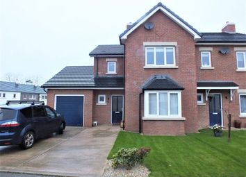Thumbnail 3 bed semi-detached house for sale in 1 Christian Avenue, Reayrt Ny Cronk, Peel