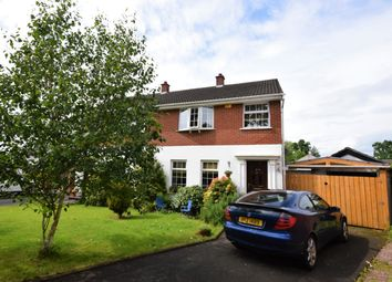 Thumbnail 3 bed semi-detached house for sale in Oakglen, Antrim