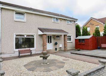 Thumbnail 4 bed semi-detached house for sale in Staffa Drive, Airdrie